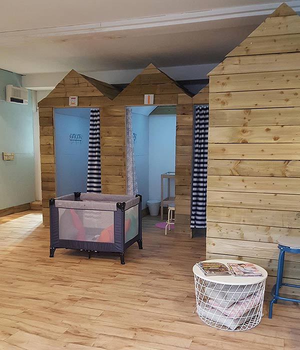 fareham swim school changing rooms